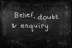 Belief doubt enquiry